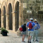 Turistas en