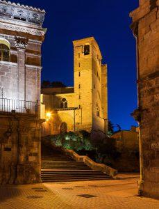 Vista del claustro de San Pedro de la Rua de Estella - Lizarra