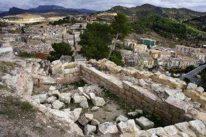 Ruinas del Castillo Mayor de Estella Lizarra y Murallas medievales