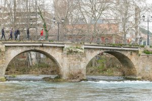 Fotografía de un puente