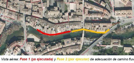 Imagen Comienzan las obras de la segunda fase del paseo fluvial del Ega