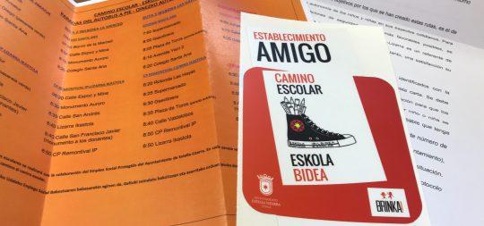 Imagen Estella-Lizarrako Udalak bideo bat atera du Eskola Bideak sustatzeko