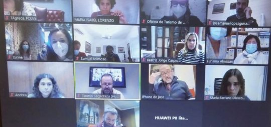 Imagen Estella-Lizarra participa en la asamblea de la Red de Ciudades y Villas Medievales, que ha analizado la situación actual de la asociación