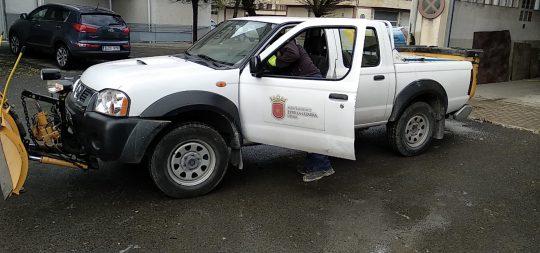 Imagen El Ayuntamiento mantiene activado el Plan de Vialidad Invernal, en marcha desde el sábado