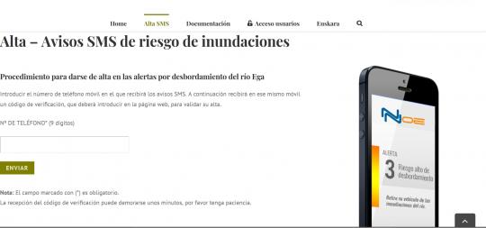Imagen El Ayuntamiento recuerda a la ciudadanía que hay disponible un servicio gratuito para recibir avisos en caso de crecidas del río