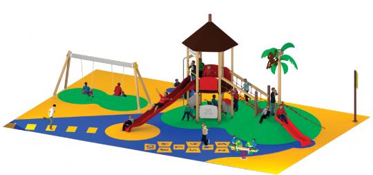 Imagen Aprobada la renovación de los juegos infantiles en la plaza Hermoso de Mendoza y la Travesía de la Paz