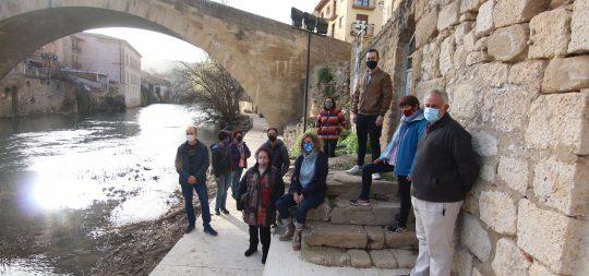 Imagen Inaugurada la segunda fase del paseo fluvial, que ya cuenta con una longitud de 275 metros