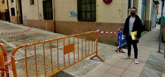Imagen Concluidos los trabajos de reparación del pavimento en el callizo Aben Seraq