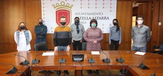 Imagen El Ayuntamiento, junto a Gaz Kaló, SOS Racismo Navarra y LAB desarrollará un pionero Plan  de Convivencia y lucha contra la Discriminación en Estella-Lizarra