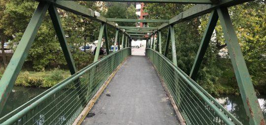 Imagen Puesta a punto de las pasarelas del Santo Sepulcro y de Doctor Huarte de San Juan
